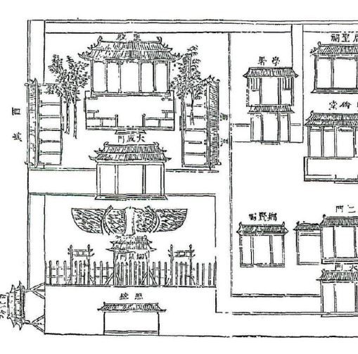 "中国古代校园规划""庙学制度""考